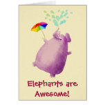 Elephants are Awesome Cards