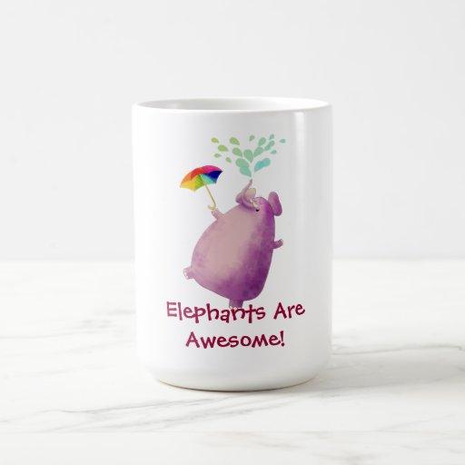Elephants are Awesome Coffee Mug