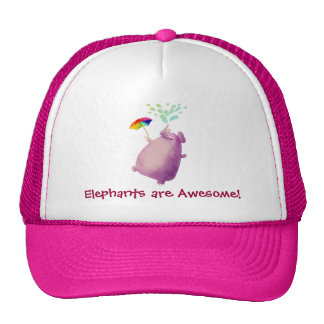 Elephants are Awesome Hat