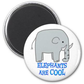 Elephants are COOL Fridge Magnet