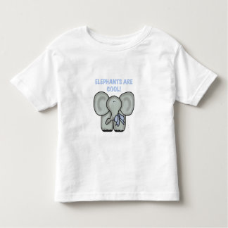 Elephants Are Cool Toddler T-shirt