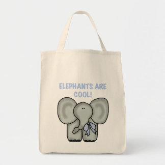 Elephants Are Cool Tshirts and Gifts Tote Bags