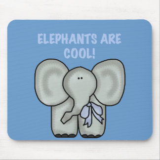 Elephants Are Cool Tshirts and Gifts Mouse Pad