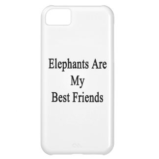 Elephants Are My Best Friends iPhone 5C Case