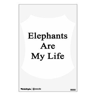 Elephants Are My Life Wall Decor