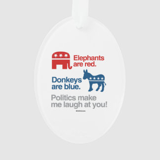 ELEPHANTS ARE RED. DONKEYS ARE BLUE.