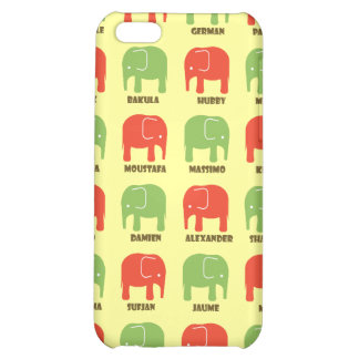 Elephants are your best friends iPhone4 case- pale iPhone 5C Covers