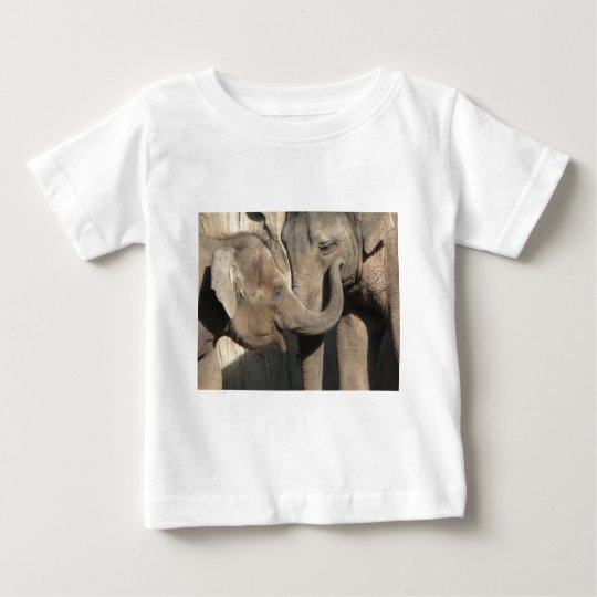 Elephants Baby T-Shirt
