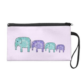 Elephants Wristlets
