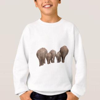 Elephants' Butts - Elephant Family Sweatshirt