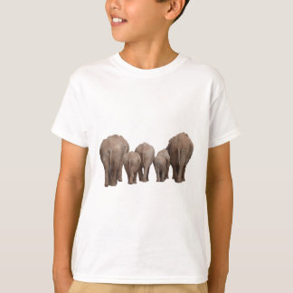 Elephants' Butts - Elephant Family T-Shirt