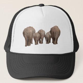 Elephants' Butts - Elephant Family Trucker Hat