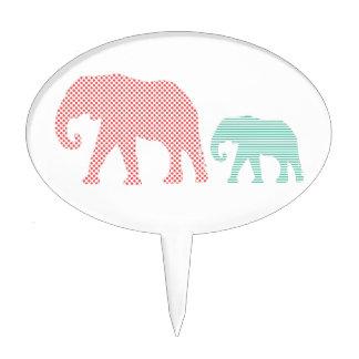 Elephants Cake Topper