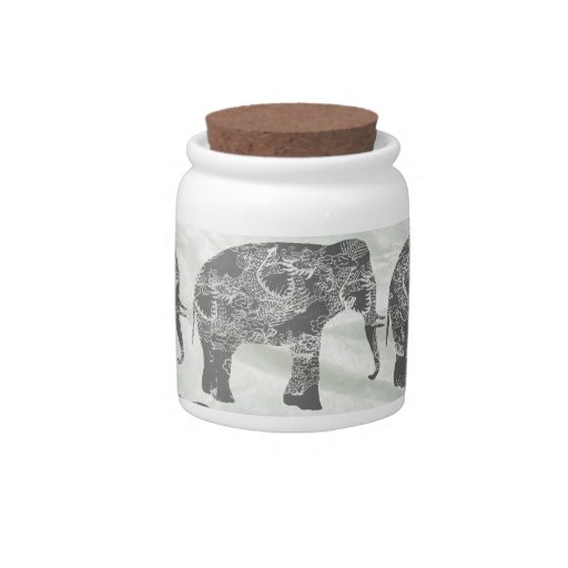 Elephants Candy Dish