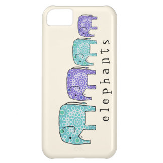 Elephants Case For iPhone 5C