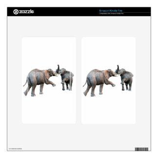 Elephant's Challenge Kindle Fire Skin