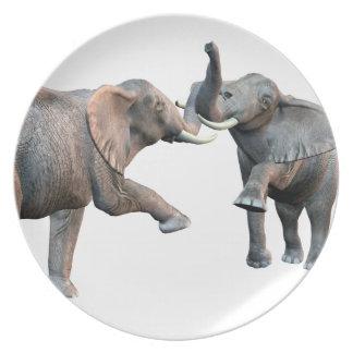 Elephant's Challenge Plate
