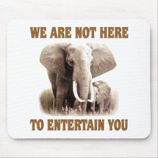 Elephants Deserve Respect Mouse Pad