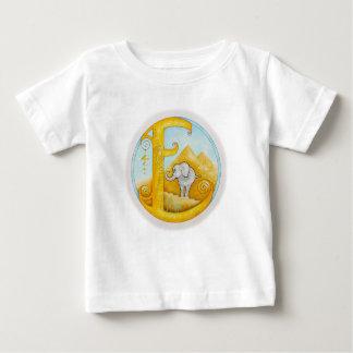 Elephants Enjoy Egyptian Art Baby T-Shirt