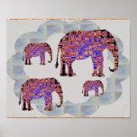 Elephants Family 2 Posters
