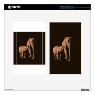 Elephants - Family Kindle Fire Decals