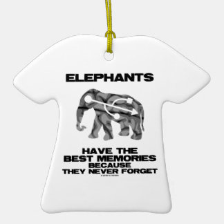 Elephants Have The Best Memories They Never Forget Christmas Tree Ornaments