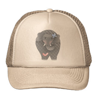 Elephants Heart Trucker Hat