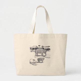 Elephants Held Captive Bag
