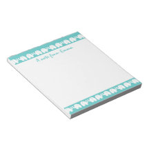 Elephants in a Row Memo Note Pads
