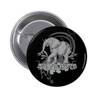 Elephants in Grey Buttons