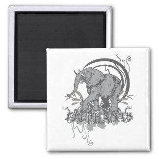 Elephants in Grey Magnets