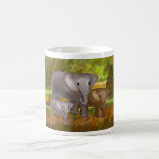 Elephants in the Rainforest Mugs