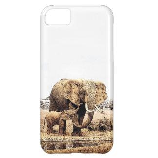 Elephants iPhone 5C Case