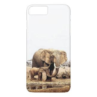 Elephants iPhone 7 Plus Case