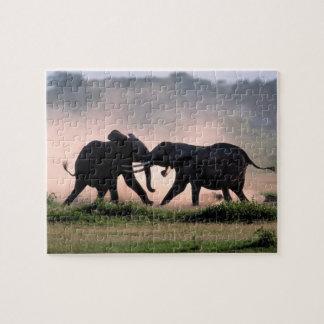 Elephants. Jigsaw Puzzle