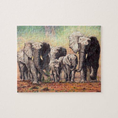 elephants jigsaw puzzle