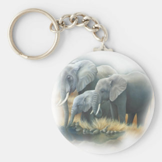 Elephants Keychain