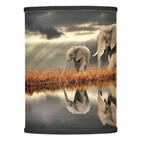 Elephants Lamp Shade