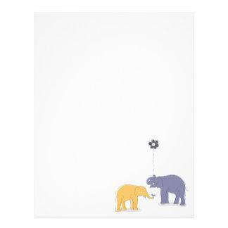 Elephants Letterhead