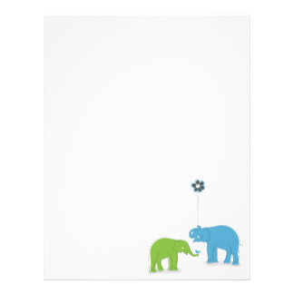Elephants Letterhead