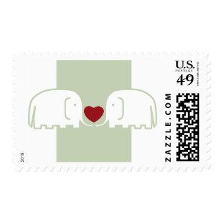 elephants love stamps