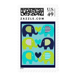 Elephants Love Postage Stamps