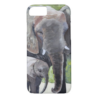 ELEPHANTS MOTHER iPhone 8/7 CASE