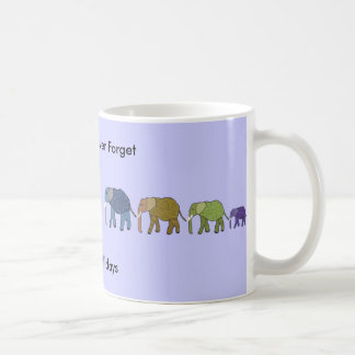 Elephants Never Forget Holiday Mug