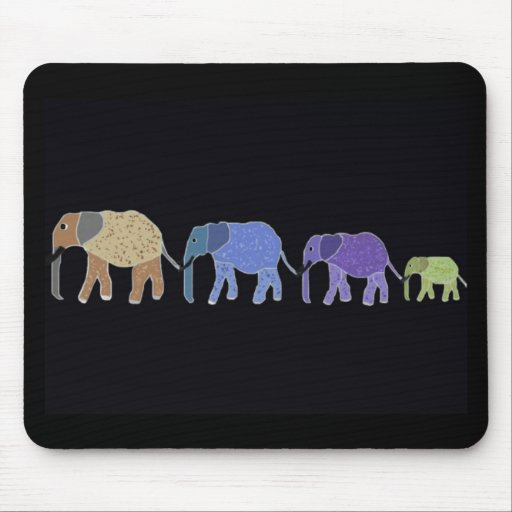 Elephants Never Forget Mouse Pad
