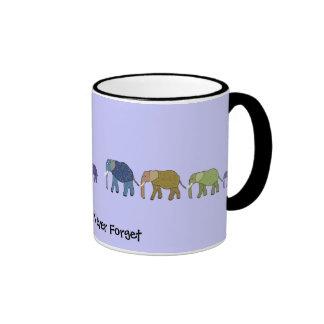 Elephants Never Forget Mugs