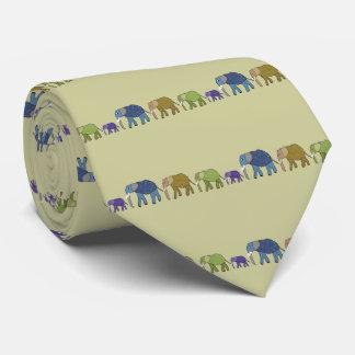 Elephants Never Forget Tie
