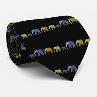 Elephants Never Forget Tie
