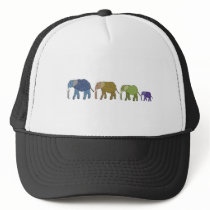 Elephants Never Forget Trucker Hat