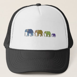 Elephants Never Forget Trucker Hat